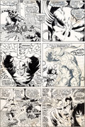 Original Comic Art:Panel Pages, Barry Smith Conan the Barbarian #5 Story Page 19 OriginalArt (Marvel, 1971)....