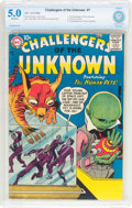 Silver Age (1956-1969):Science Fiction, Challengers of the Unknown #1 (DC, 1958) CBCS VG/FN 5.0 Off-white pages....
