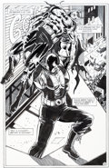 Original Comic Art:Splash Pages, Jim Aparo and David Roach Batman #561 Splash Page 15Original Art (DC, 1999)....