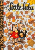 Original Comic Art:Covers, C.C. Beck Little Lulu Library Cover Original Art (AnotherRainbow, 1977)....