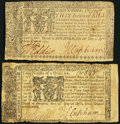 Colonial Notes:Maryland, Maryland April 10, 1774. . ... (Total: 2 items)