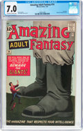 Silver Age (1956-1969):Science Fiction, Amazing Adult Fantasy #14 (Marvel, 1962) CGC FN/VF 7.0 Off-white towhite pages....