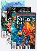Modern Age (1980-Present):Miscellaneous, Marvel Modern Age Long Box Group (Marvel, 1990s) Condition: Average VF/NM....