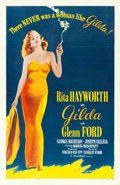 "Movie Posters:Film Noir, Gilda (Columbia, R-1959). One Sheet (27"" X 41"").. ..."