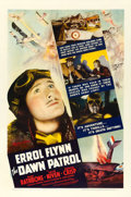 "Movie Posters:War, The Dawn Patrol (Warner Brothers, 1938). One Sheet (27"" X 41"")....."