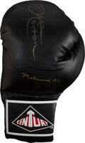 Boxing Collectibles:Autographs, 1980's Muhammad Ali & Ken Norton Signed Boxing Glove....