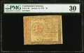 Colonial Notes:Continental Congress Issues, Continental Currency January 14, 1779 $2 PMG Very Fine 30.. ...