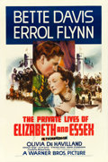 "Movie Posters:Swashbuckler, The Private Lives of Elizabeth and Essex (Warner Brothers, 1939).One Sheet (27"" X 41"").. ..."