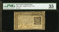 Colonial Notes:New York, New York August 13, 1776 $10 PMG Choice Very Fine 35.. ...