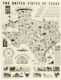 Miscellaneous:Maps, United States of Texas Map...