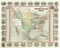 "Miscellaneous:Maps, John Haven: ""Map of the United States and Mexico Including Oregon, Texas and the Californias.""..."