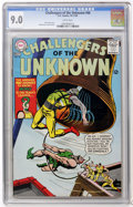 Silver Age (1956-1969):Adventure, Challengers of the Unknown #46 (DC, 1965) CGC VF/NM 9.0 White pages....