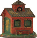 "Antiques:Toys, ""Zoo Bank"" Mechanical Bank..."