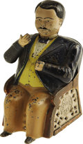 """Antiques:Toys, """"Tammany Bank"""" Mechanical Bank..."""