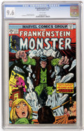 Bronze Age (1970-1979):Horror, Frankenstein #12 (Marvel, 1974) CGC NM+ 9.6 White pages....