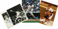 "Autographs:Photos, Ron Guidry/Yogi Berra/Don Mattingly Single Signed Photographs Lotof 3. Offered are 8x10"" signed photographs of three New Y..."