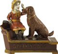 "Antiques:Toys, ""Speaking Dog"" Mechanical Bank ..."
