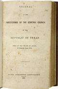 Books:Non-fiction, Journal of the Proceedings of the General Council of the Republicof Texas, Held at San Felipe de Austin, November 14th 1835....