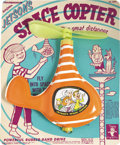 Toys:Miscellaneous, Jetsons Space Copter (Transogram, 1962)....
