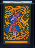 "Music Memorabilia:Posters, Quicksilver Messenger Service/Miller Blues Band ""DancingLady/Chicken Lady"" Avalon Ballroom Concert Poster FD-42 (FamilyDog, ..."