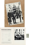 Music Memorabilia:Tickets, Beatles Brighton Hippodrome Theatre Concert Ticket Stub and Program(UK, July 12, 1964). ...