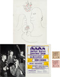 """Music Memorabilia:Tickets, Beatles Hammersmith Odeon """"Another Beatles Christmas Show"""" Ticket Stubs (Two) and Program (UK, December 1964 - January 1965)...."""