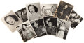 Music Memorabilia:Autographs and Signed Items, Jazz - Ten Signed Black And White Photographs Of Female JazzVocalists (circa early 1950s)....