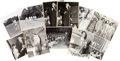 Music Memorabilia:Autographs and Signed Items, Jazz - Eleven Signed Black And White Photographs of Male JazzVocalists (circa early 1950s)....