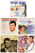 Music Memorabilia:Recordings, Ritchie Valens - Group of Five LPs (Del-Fi/ Guest Star Records,1959 - 1963).... (Total: 5 Items)
