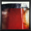 Music Memorabilia:Autographs and Signed Items, Nine Inch Nails - Trent Reznor Signed Limited-Edition TheFragile Poster....