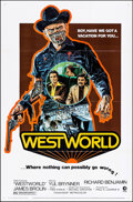 "Movie Posters:Science Fiction, Westworld (MGM, 1973). One Sheet (27"" X 41"") & Lobby Cards (7)(11"" X 14""). Science Fiction.. ... (Total: 8 Items)"