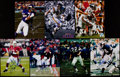 Football Collectibles:Photos, Football Greats Signed Photographs Lot of 7....