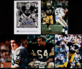 Football Collectibles:Photos, Green Bay Packers Greats Signed Photographs Lot of 5....