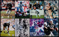 Football Collectibles:Photos, Raiders Greats Signed Photographs Lot of 8....