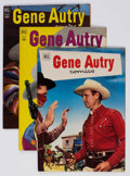 Golden Age (1938-1955):Western, Gene Autry Comics File Copies Group of 10 (Dell, 1952-53)Condition: Average NM-.... (Total: 10 Comic Books)