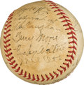 Baseball Collectibles:Balls, 1936 National League All-Star Team Signed Baseball....