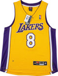 Basketball Collectibles:Uniforms, 2000's Kobe Bryant Signed Los Angeles Lakers Jersey. ...