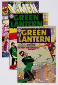 Silver Age (1956-1969):Superhero, Green Lantern #14 and 17, and X-Men #281 Group (DC, 1962-91).... (Total: 3 Comic Books)