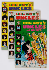 Little Dot's Uncles and Aunts #15-52 Near Complete Run File Copy Short Boxes Group (Harvey, 1965-74) Condition: Average...
