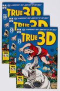 Golden Age (1938-1955):Adventure, True 3-D #1 File Copies Group of 50 (Harvey, 1953) Condition: Average FN.... (Total: 50 Comic Books)