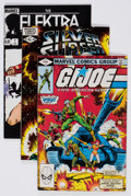 Modern Age (1980-Present):Miscellaneous, Marvel Modern Age Comics Box Lot (Marvel, 1980s) Condition: Average VF....