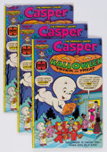 Bronze Age (1970-1979):Cartoon Character, Casper Halloween Trick or Treat #1 File Copy Long Box Group (Harvey, 1976) Condition: Average VF+....