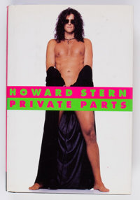 Howard Stern Private Parts Signed Edition w/ Dust Jacket (Simon & Shuster, 1993)