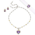 Estate Jewelry:Suites, Amethyst, Diamond, Gold, Sterling Silver Jewelry Suite, JudithRipka. ... (Total: 4 Items)