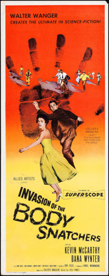 "Invasion of the Body Snatchers (Allied Artists, 1956). Insert (14"" X 36""). Science Fiction"