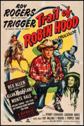 "Movie Posters:Western, Trail of Robin Hood (Republic, 1950). One Sheet (27"" X 41"").Western.. ..."