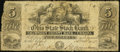 Obsoletes By State:Ohio, Urbana, OH- Champaign County Bank Counterfeit $5 Nov.(?) 18, 1852....