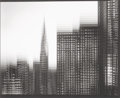 Photographs:Digital, Len Prince (American, b. 1953). The Chrysler Building Motion Landscape, 2009. Digital pigment print. 18-1/4 x 23-1/4 inc...