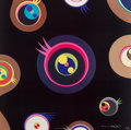 Prints:Contemporary, Takashi Murakami (b. 1962). Jellyfish Eyes 1, 2, 3, and5 (four works), 2004. Offset lithographs in colors on wovep... (Total: 4 Items)