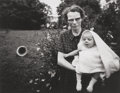Photographs:Gelatin Silver, Emmet Gowin (American, b. 1941). Maggie and Donna Jo, 1966.Gelatin silver. 4-7/8 x 6-1/4 inches (12.4 x 15.9 cm). Signe...